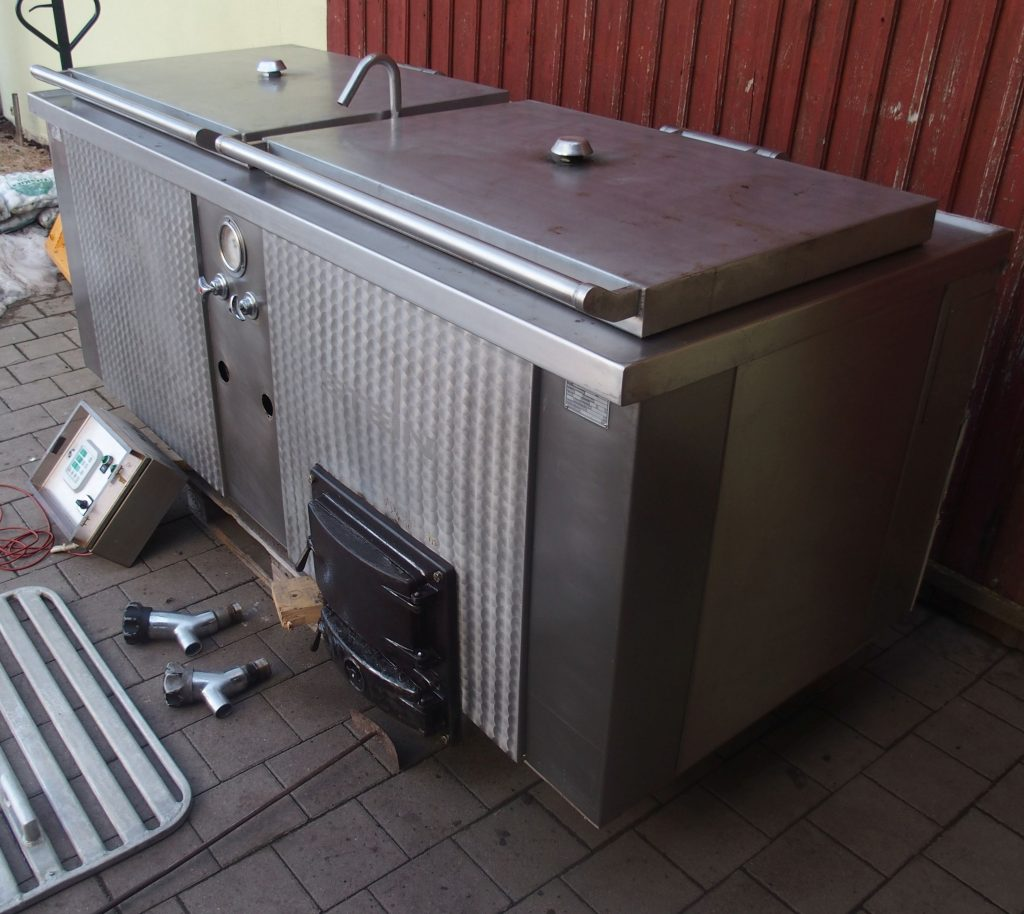 Combined cooking boiler Stein Europa 300