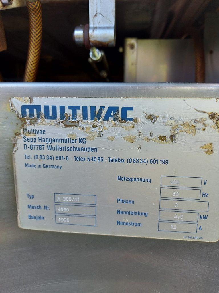 Vacuum Packaging Machines Multivac A300/41